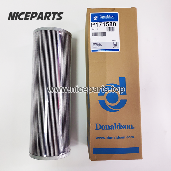 P171580 Donaldson Filters Excavator Engine Filtration Hydraulic Oil Filter Cartridge Wholesale