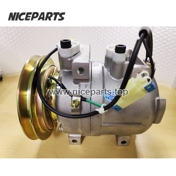 AC COMPRESSOR For Hyundai Robex 290 LC-7 Air Conditioner Compressor