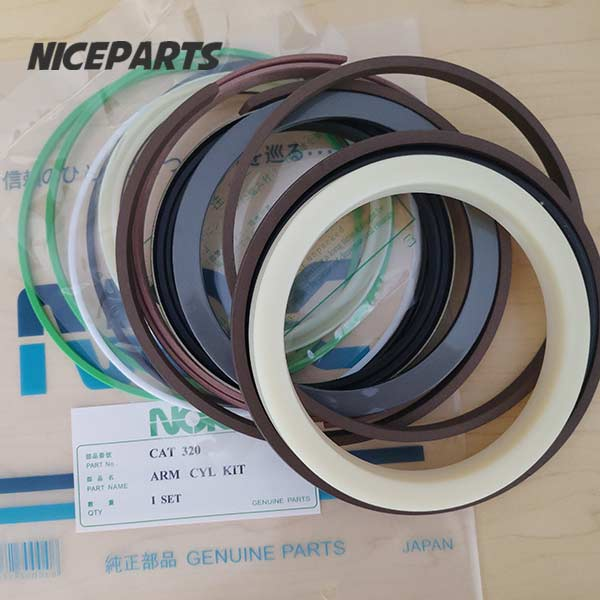 E320 CAT 320 Boom Arm Bucket Excavator Hydraulic Cylinder Seal Kit