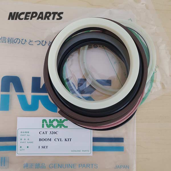 E320C CAT 320C Boom Arm Bucket Excavator Hydraulic Cylinder Seal Kit