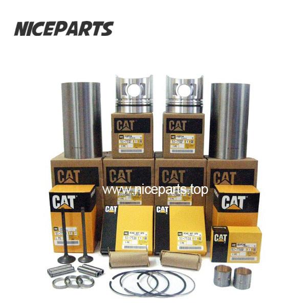 CAT Engine Part Bearings Cylinder Liner Piston Rings Full Gasket Kit Overhaul Kit