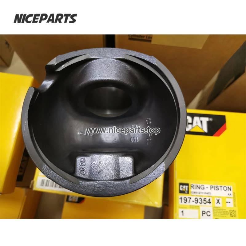 Piston 238-2698 Excavator E324D 325D C7 Engine Spare Parts Liner Kit