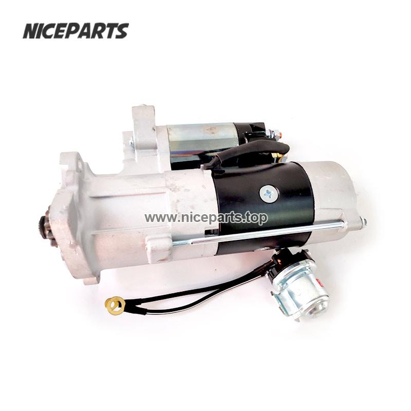 MITSUBISHI Engine Starter Motor CA1252963 1252963 125-2963 S4K S6K Excavator E320B Parts