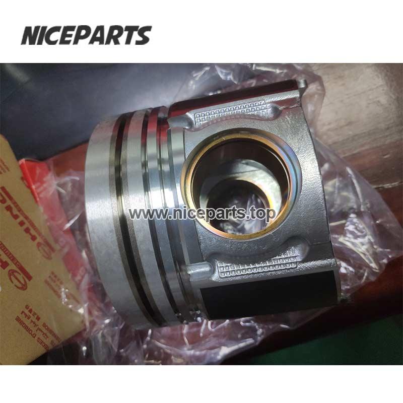 J05E Engine Piston SK200-8 Excavator Engine Parts Liner Kits