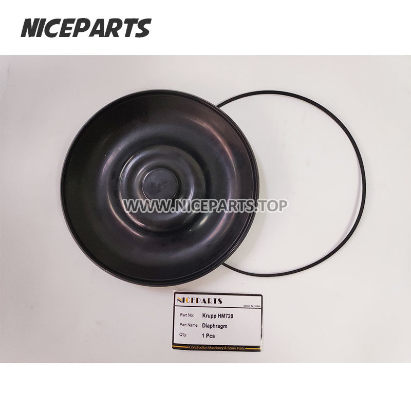 Krupp HM720 Diaphragm Hydraulic Breaker Membrane